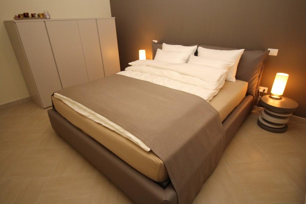 Schlafzimmer 1 - Bett